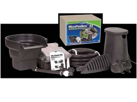 Aquascape Pondless Waterfall Kit by Aquascape Micro Pondless Waterfall Kit Pondless Waterfalls