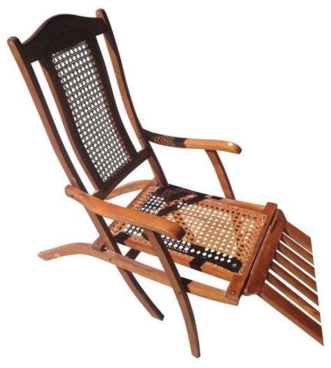 pre owned antique early 1900s liner deck chair
