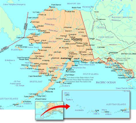 map  alaska alaska maps mapsofnet