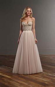 beaded corset tulle skirt wedding separates martina liana With wedding dress separate bodice and skirt