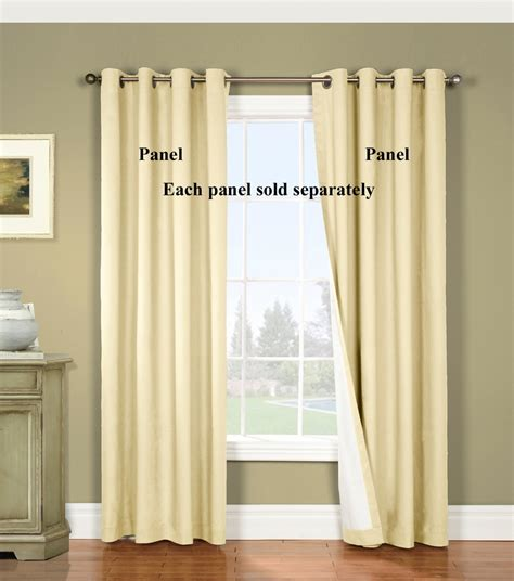 nantucket black out grommet curtain panels thermalogic