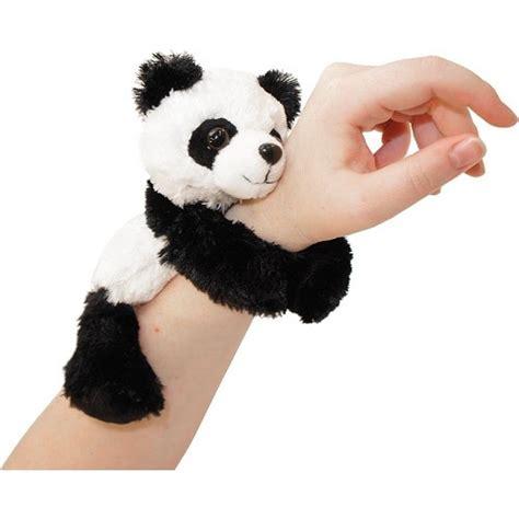 panda backpack huggers slap bracelet panda republic