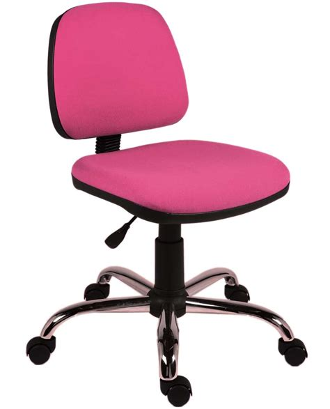 pink computer chair for