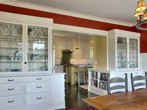 Builtins  Traditional  Dining Room  Seattle  By Jas
