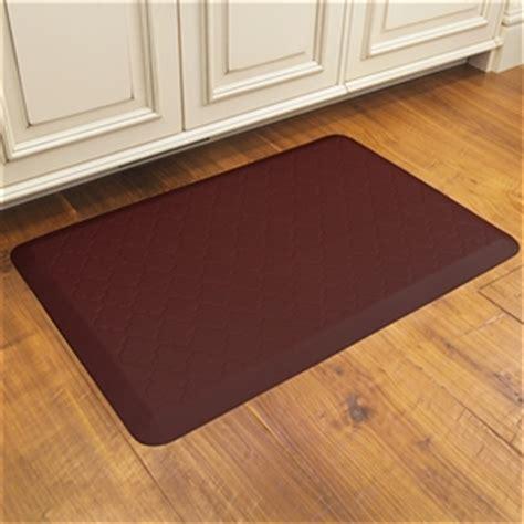 kitchen floor runners wellnessmats cushioned kitchen floor mat burgundy 1671