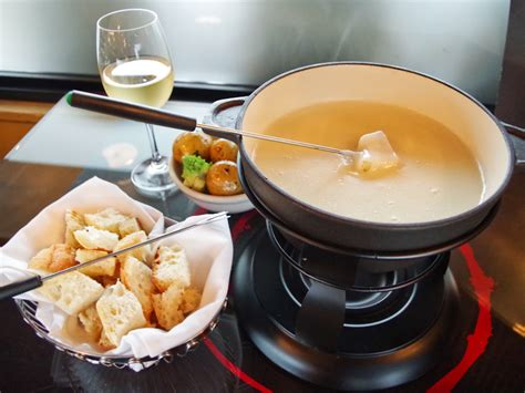 food from the cheese fondue food and travel