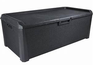 Auflagenbox Mit Sitzfunktion : keter auflagenbox borneo kunststoff auflagenbox neu ~ Buech-reservation.com Haus und Dekorationen
