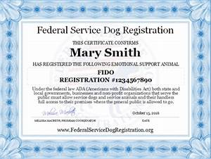 emotional support animal collection top dog products With esa registration letter