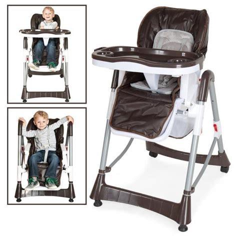 chaise haute pour b 233 b 233 enfant grand confort pliable s 233 curit 233 224 5 points hauteur r 233 glable