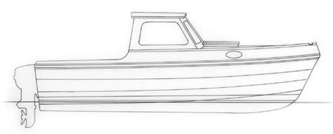 How To Draw A Power Boat by Large Wood Boat Plans Learn How Pages
