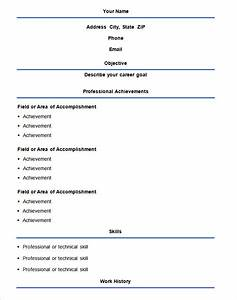 easy resume templates best resume collection With ez resume templates