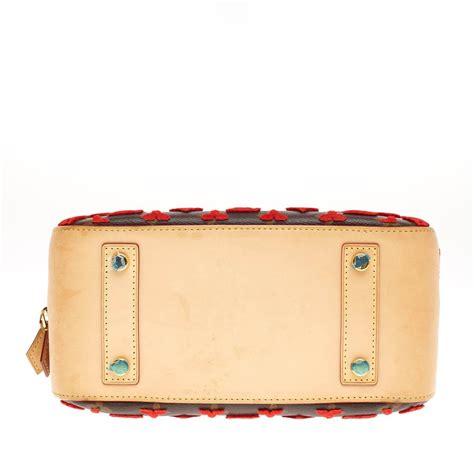 louis vuitton deauville cube bag limited edition monogram canvas tuffetage  stdibs