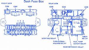 Honda Lx 1986 Fuse Box  Block Circuit Breaker Diagram