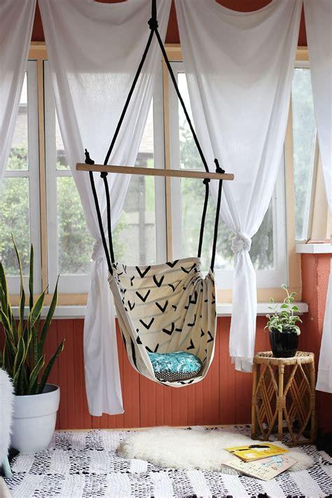 diy tutorial   hammock chair   porch  kids room  housekeeper