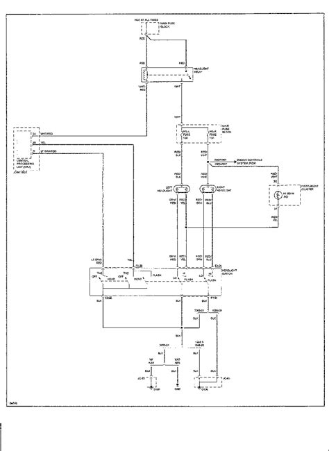 98 Mazda 626 Wiring Diagram by I A 98 Mazda 626 With Inop Headlights Both Bulbs
