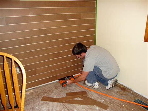 how to install wood flooring on walls using wood flooring on walls images