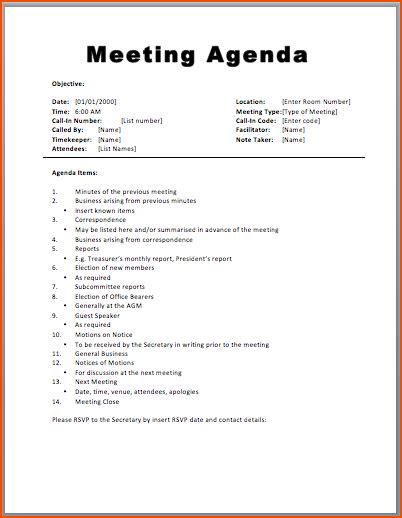 meeting minutes template free 7 free meeting agenda templates bookletemplate org