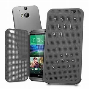 Dot Matrix View Case for HTC One M8 (Grey)