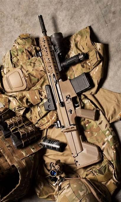Military Zedge Gun Soldier Mk11 Assault