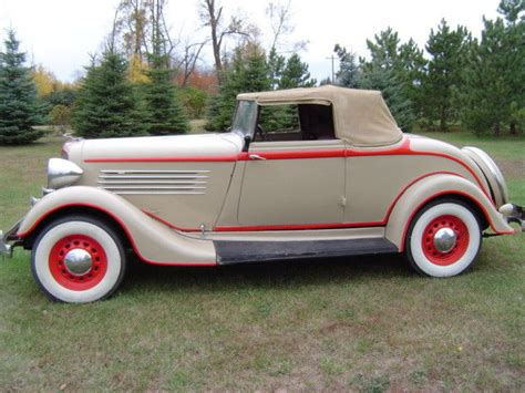 1934 Chrysler Coupe by 1934 Chrysler Convertible Rumble Seat Coupe Classic
