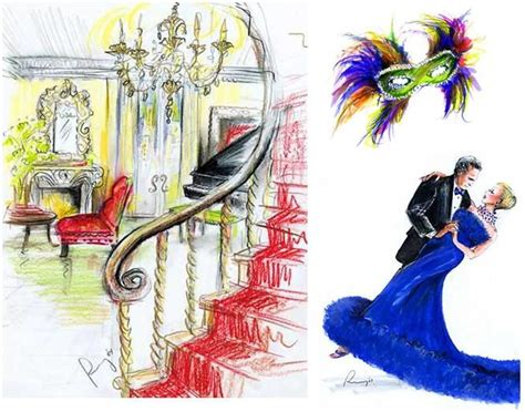Capture Your Wedding Day In Motion Through Illustration by