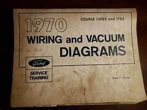 1970 Ford Mustang Wiring Diagram Manual