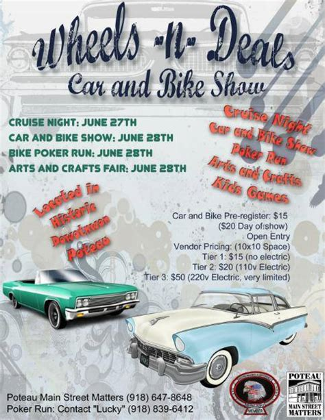 route  cruisers car show list oklahoma