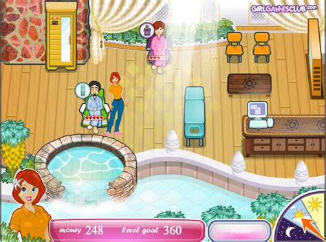 sashas health spa game funnygamesin