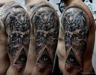 Best Illuminati Tattoo Ideas And Images On Bing Find What Youll