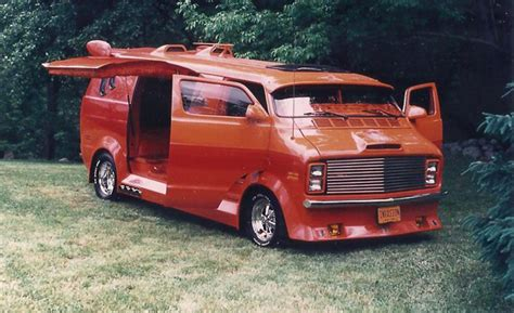 The Spirit Of '76 Dodge B200 Custom Van  News  Car And