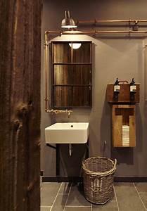 Salle De Bain Style Industriel : 10 id es pour donner un style industriel sa salle de bain ~ Dailycaller-alerts.com Idées de Décoration