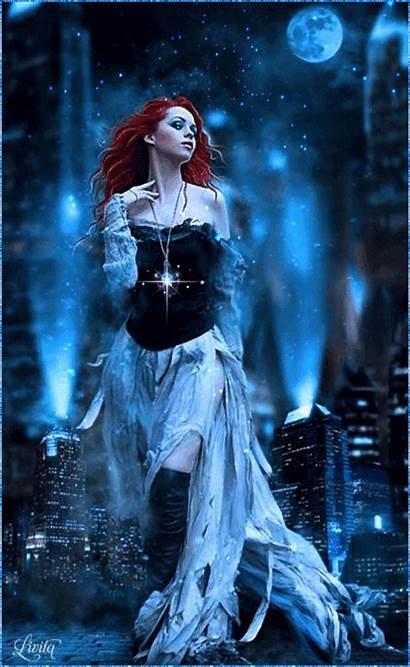 Gothic Fantasy Dark Female Bloody Woman Goth