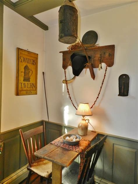 primitive country table ls 20 best images about colonial tavern signs on pinterest