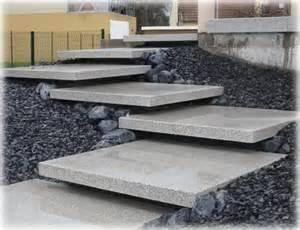 Dalle Escalier Extérieur by L Escalier Suspendu Paysage Concept Cr 233 Ateur De Jardins