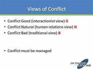 interactionist perspective conflict resolution slide presentation agency for