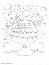 Energy Coloring Renewable Pages Drawing Sheets Sources Holidays Printable Earth Getdrawings sketch template