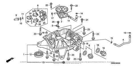 Honda Engines Gxvu Qea Engine Jpn Vin Gjaek