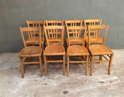 chaise bistrot ancienne baumann ensemble de 8 chaises bistrot style baumann