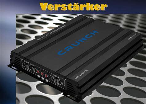 crunch gpx 1000 4 crunch gpx1000 4 auto hifi verst 228 rker endstufe 4 kanal auto kfz 1000 watt ebay