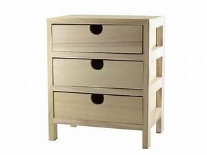Petit Meuble à Tiroirs : petit meuble tiroirs loisirs cr atifs ~ Teatrodelosmanantiales.com Idées de Décoration