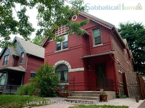Rental Denver by Sabbaticalhomes Home For Rent Denver Colorado 80203