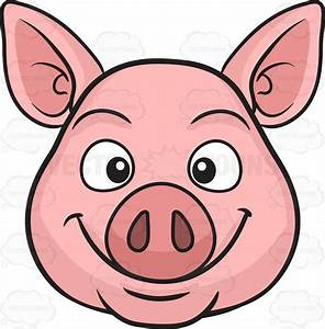 Cartoon Pig Face Clipart | Free download best Cartoon Pig ...