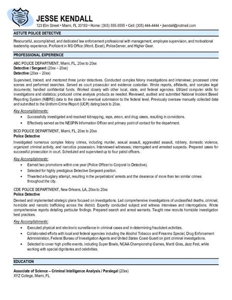 25 unique officer resume ideas on