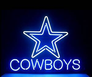 Cowboys Neon Sign, Dallas Cowboys Neon Sign, Cowboys Neon ...