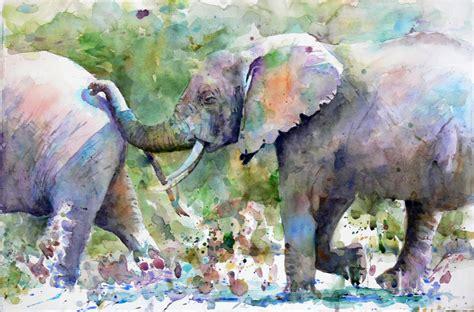 Creating Expressive Animal Paintings In Watercolor