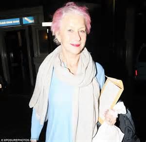 Think Pink Hair Stylist Behind Helen Mirrens Bubblegum