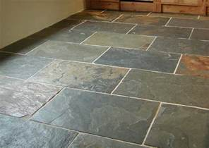 grey green slate floor traditional wall and floor tile by