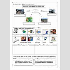 Pollution Worksheet  Free Esl Printable Worksheets Made By Teachers