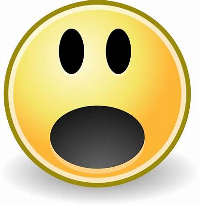 Scared Face Clipart Smiley Emoji Transparent Marianne