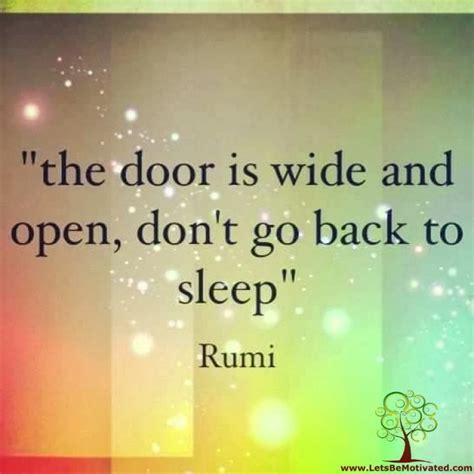 rumi quotes door bridge open sayings motivating inspiring